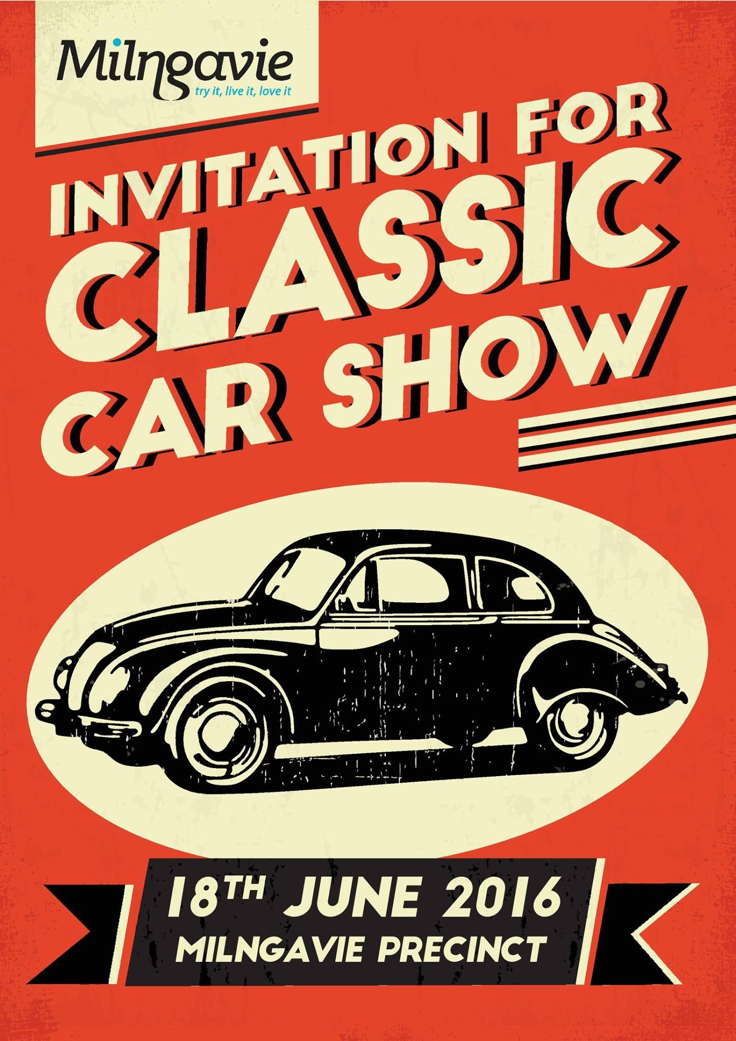 Our Buzz - Milngavie Classic Car Show