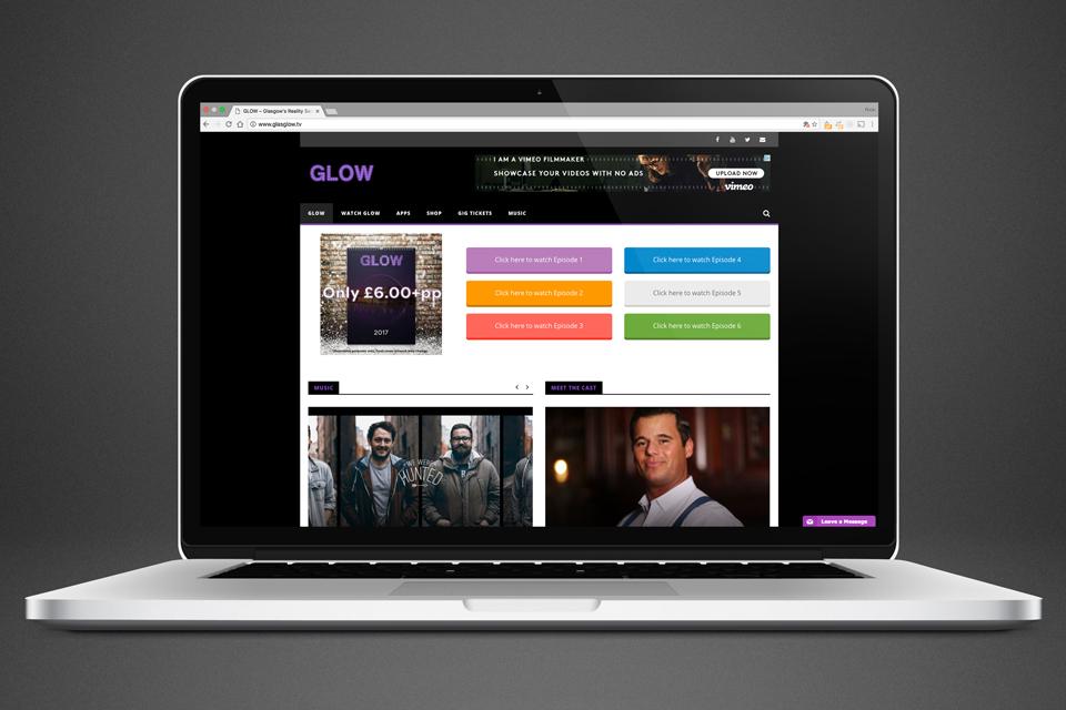Glow Reality Website