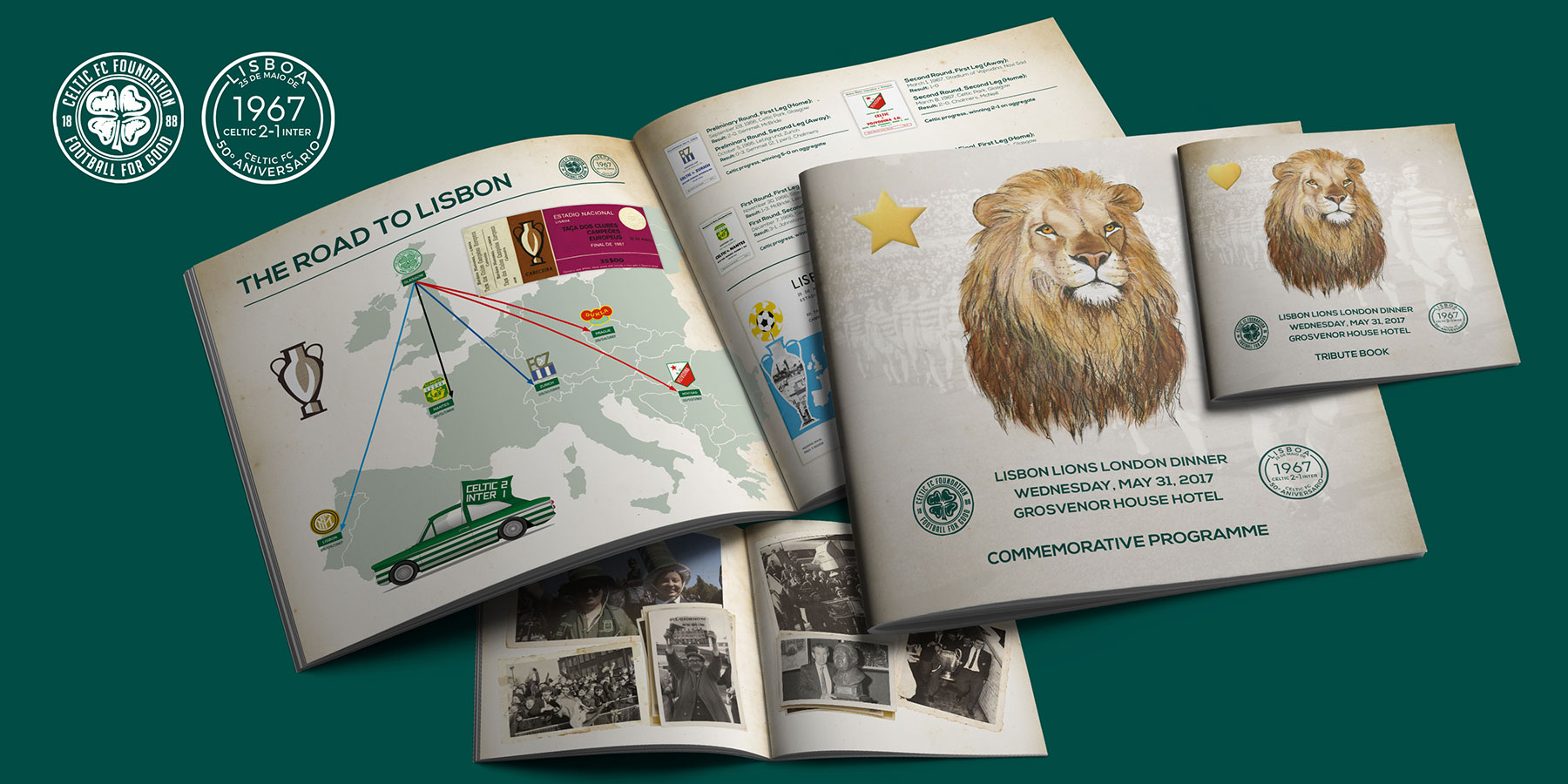 Celtic FC Foundation - Lisbon Lions London Dinner #LionsLegacy