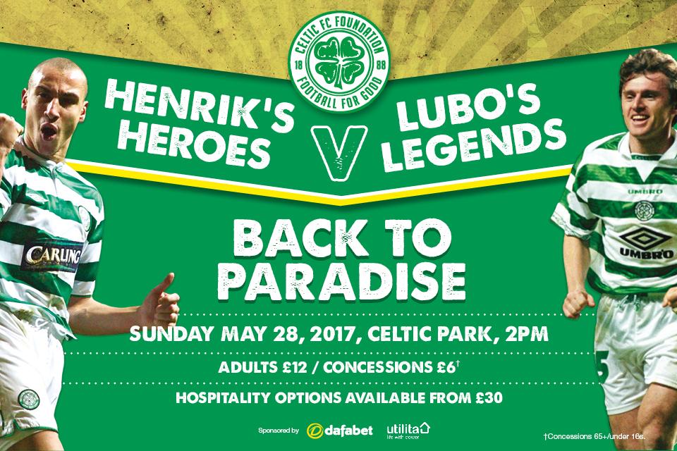 Celtic FC Foundation - Henrik's Heroes v Lubo's Legends