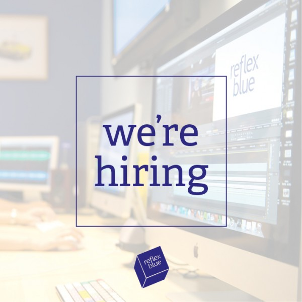 We're hiring Graphic