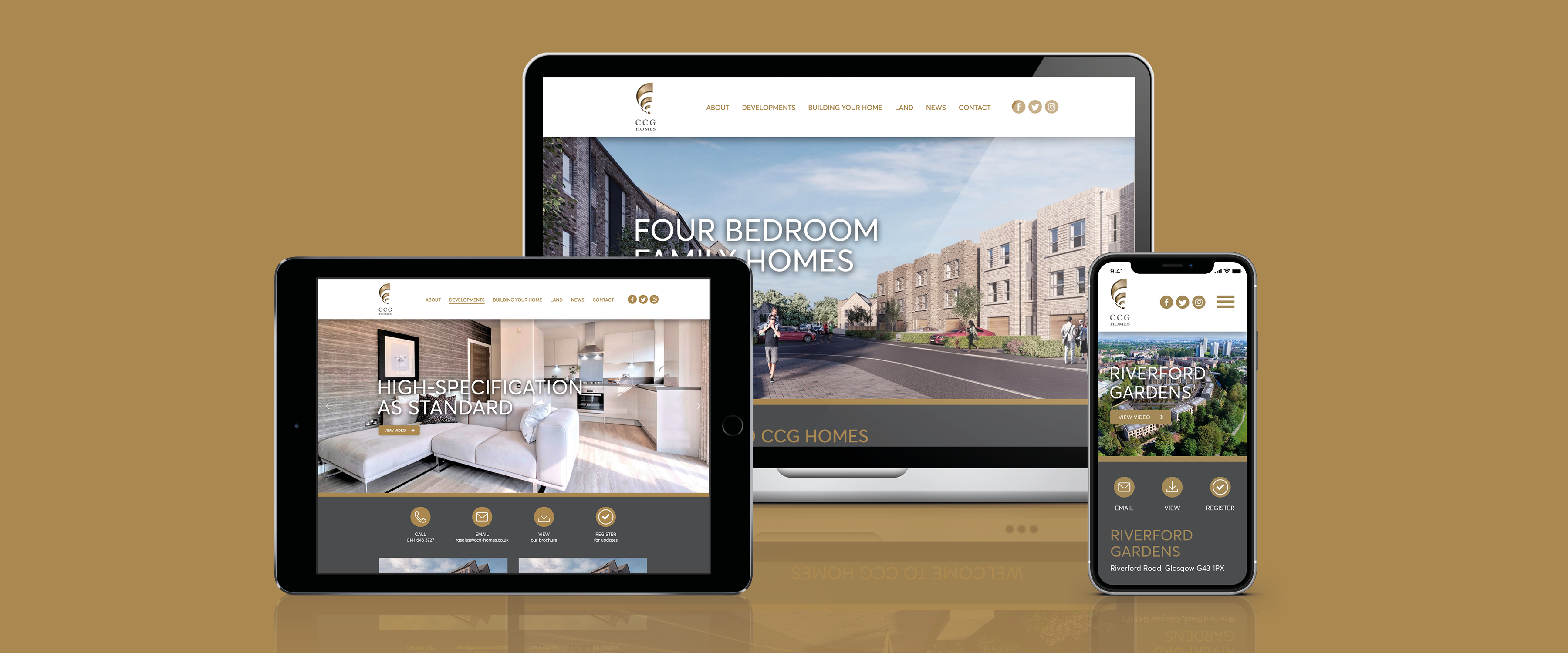 CCG Homes Website Mock Up 3600x1500