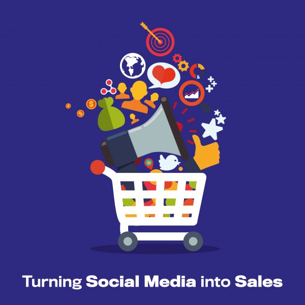 Social Media Into Sales Blog Image