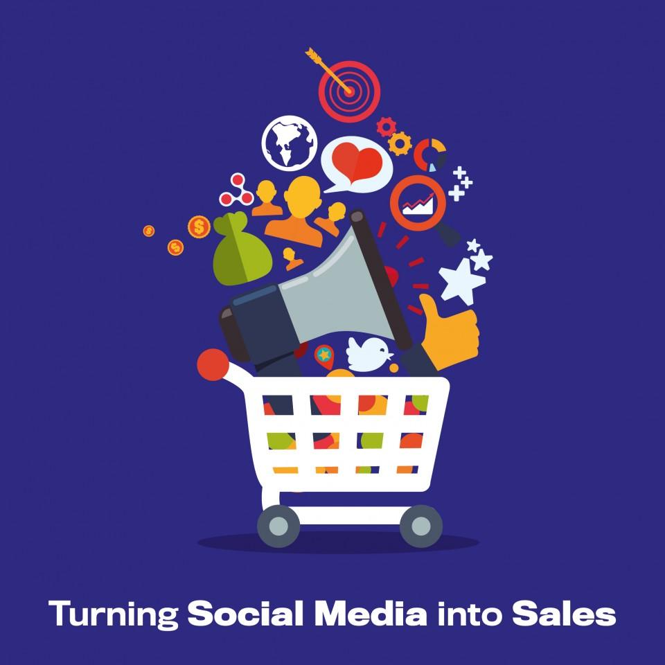 Social Media Into Sales Blog Image