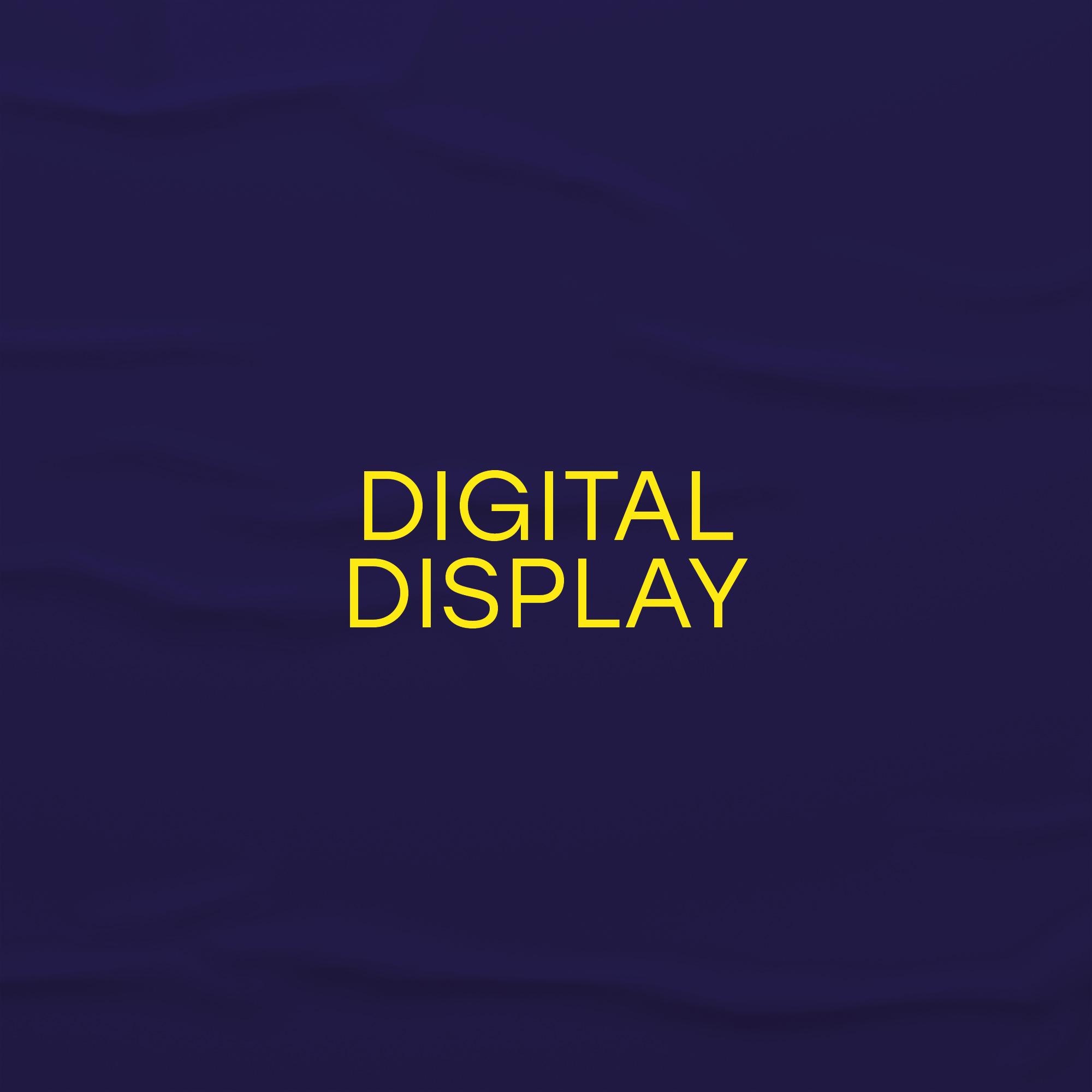 digital display service icon