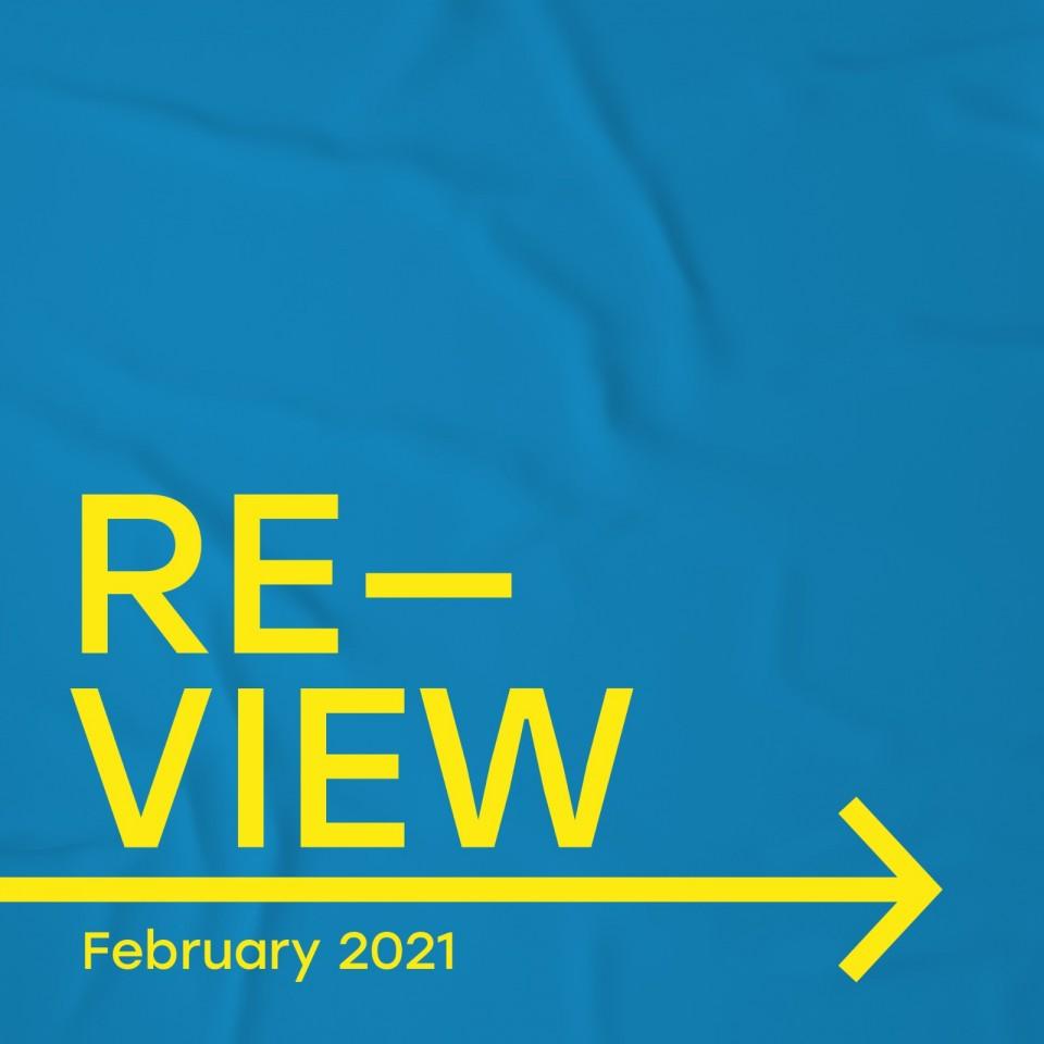 reflexblue RE-VIEW FEBRUARY